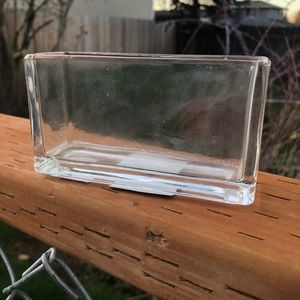 Other - Leaded glass window vase vintage/unused